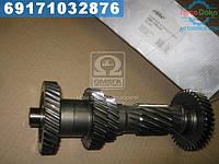 ⭐⭐⭐⭐⭐ Вал промежуточный КПП ГАЗ 3302 5 ступенчатая без подшипника (RIDER)  3302-1701310