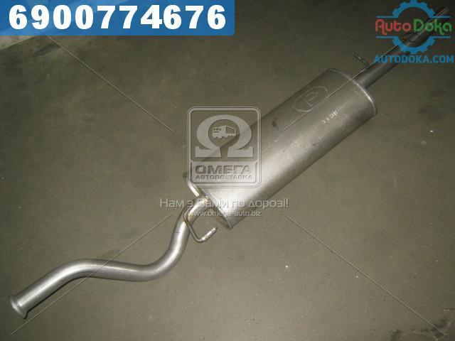 Глушитель задний ВАЗ 2110, 2111, 2112 (производство  Polmostrow)  11.38