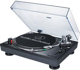Виниловый проигрыватель Audio-Technica AT-LP120-USBHC Black