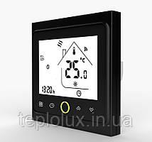 Терморегулятор CASTLE  PWT-002 - Wi-Fi сенсорный программируемый для теплого пола (черный)