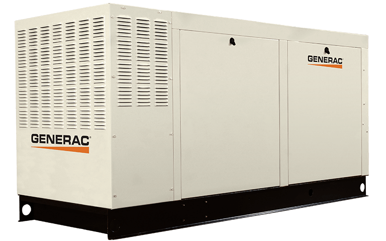 Трехфазный газовый  генератор GENERAC QT 70 (56 кВт)