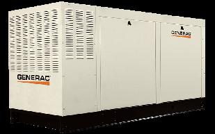 Трифазний газовий генератор GENERAC QT 70 (56 кВт)