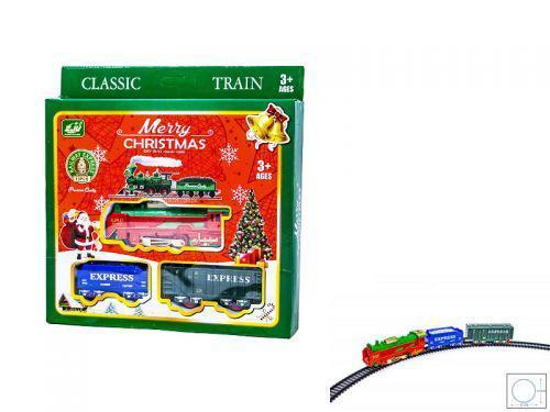 Новогодний поезд со световыми эффектами 7Toys 5299 ( TC118877)