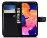 Чохол-книжка Bookmark для Samsung Galaxy A70 black, фото 5