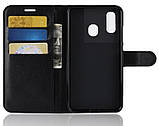 Чохол-книжка Bookmark для Samsung Galaxy A30 black, фото 3
