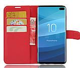 Чохол-книжка Bookmark для Samsung Galaxy S10/G973 red, фото 4