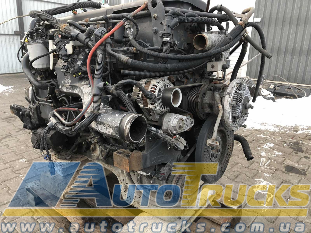 Двигатель CURSOR 10 Б/у для IVECO Stralis (F3AE36810; S004-129530; 504204559; 2996291; 2996292)