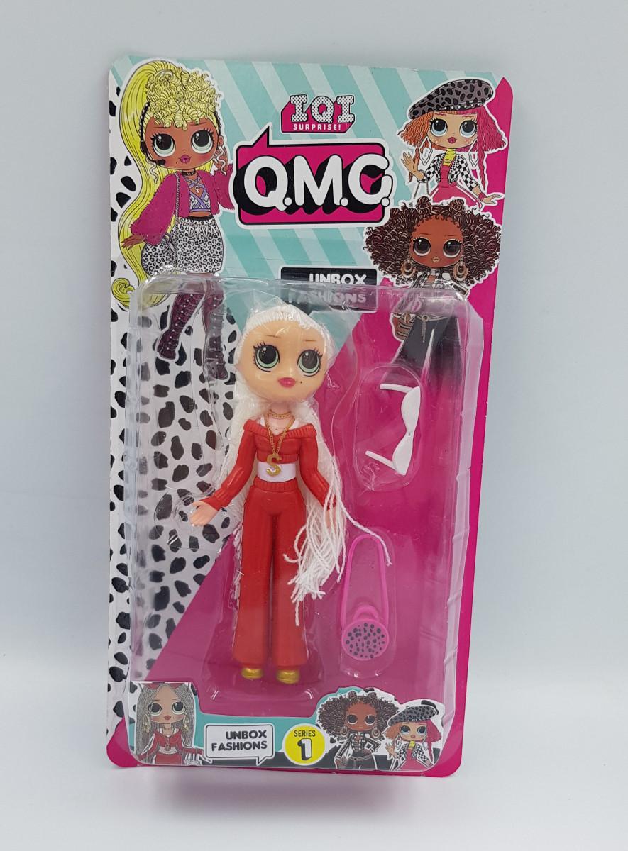 Лялька LOL O. M. G з аксесуарами Модель 1204 ( Висота фігурки 15 см)