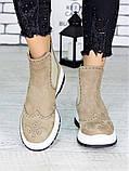 Ботинки Челси латте 7212-28, фото 3