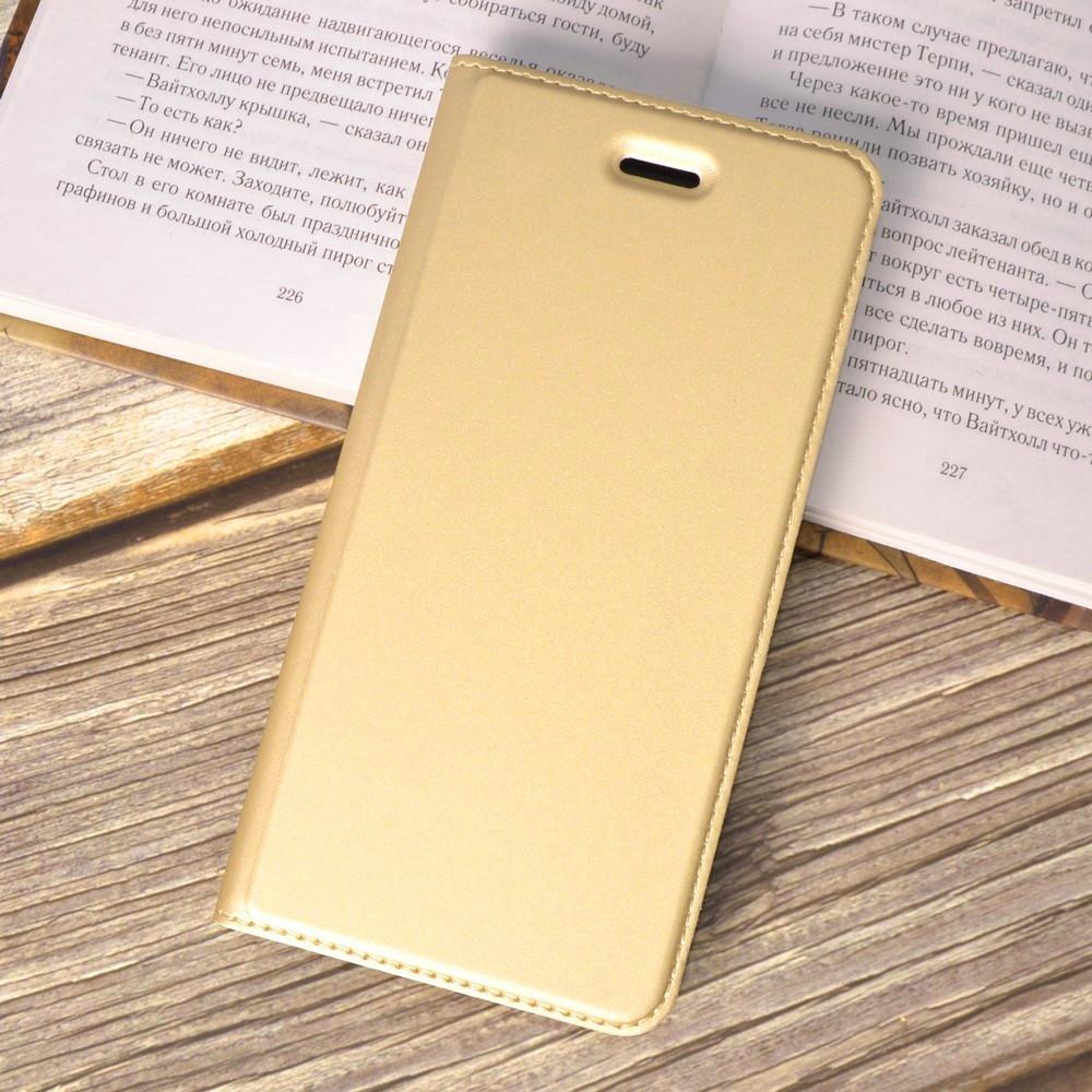 Чехол-книжка Dux Ducis для iPhone 7 / iPhone 8 gold