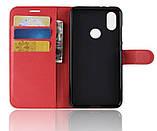 Чохол-книжка Bookmark для Xiaomi Redmi 6 Pro red, фото 4