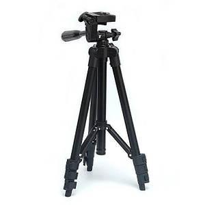 Штатив для фотоаппарата трипод 3120A Black + чехол