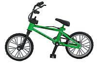 Горный мини велосипед Mountain с тормозами 11 см x 7 см x 5,5 см. Зеленый
