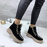 Зимние Ботиночки =QWTY=, цвет: BLACK, фото 2