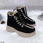 Зимние Ботиночки =QWTY=, цвет: BLACK, фото 4