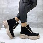 Зимние Ботиночки =QWTY=, цвет: BLACK, фото 5