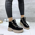 Зимние Ботиночки =QWTY=, цвет: BLACK, фото 6