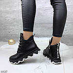 Зимние ботиночки =JHG=, цвет: BLACK, фото 3