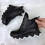 Зимние ботиночки =JHG=, цвет: BLACK, фото 4