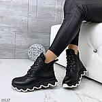 Зимние ботиночки =JHG=, цвет: BLACK, фото 5