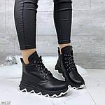 Зимние ботиночки =JHG=, цвет: BLACK, фото 7
