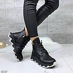 Зимние ботиночки =JHG=, цвет: BLACK, фото 8