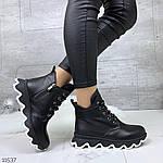 Зимние ботиночки =JHG=, цвет: BLACK, фото 9