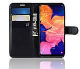 Чехол-книжка Bookmark для Samsung Galaxy A10 black, фото 5