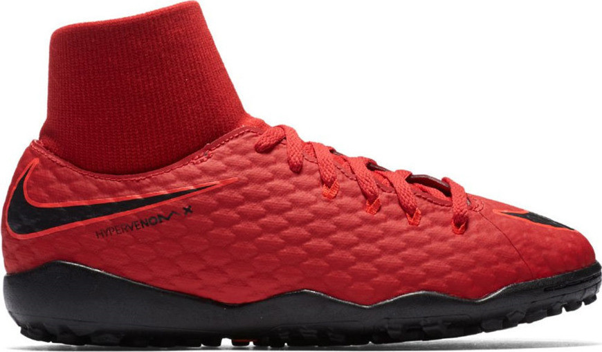 Детские сороконожки Nike HypervenomX Phelon III DF TF. Оригинал/ Eur 35(21,5cm).