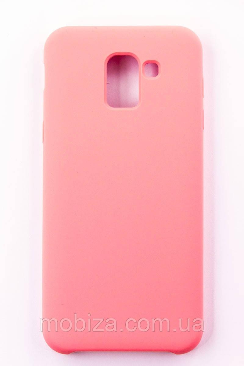 "Чохол-панель FINE LINE (Back Cover) ""Soft Touch"" для Samsung Galaxy J6 2018 (J600)(pink)"