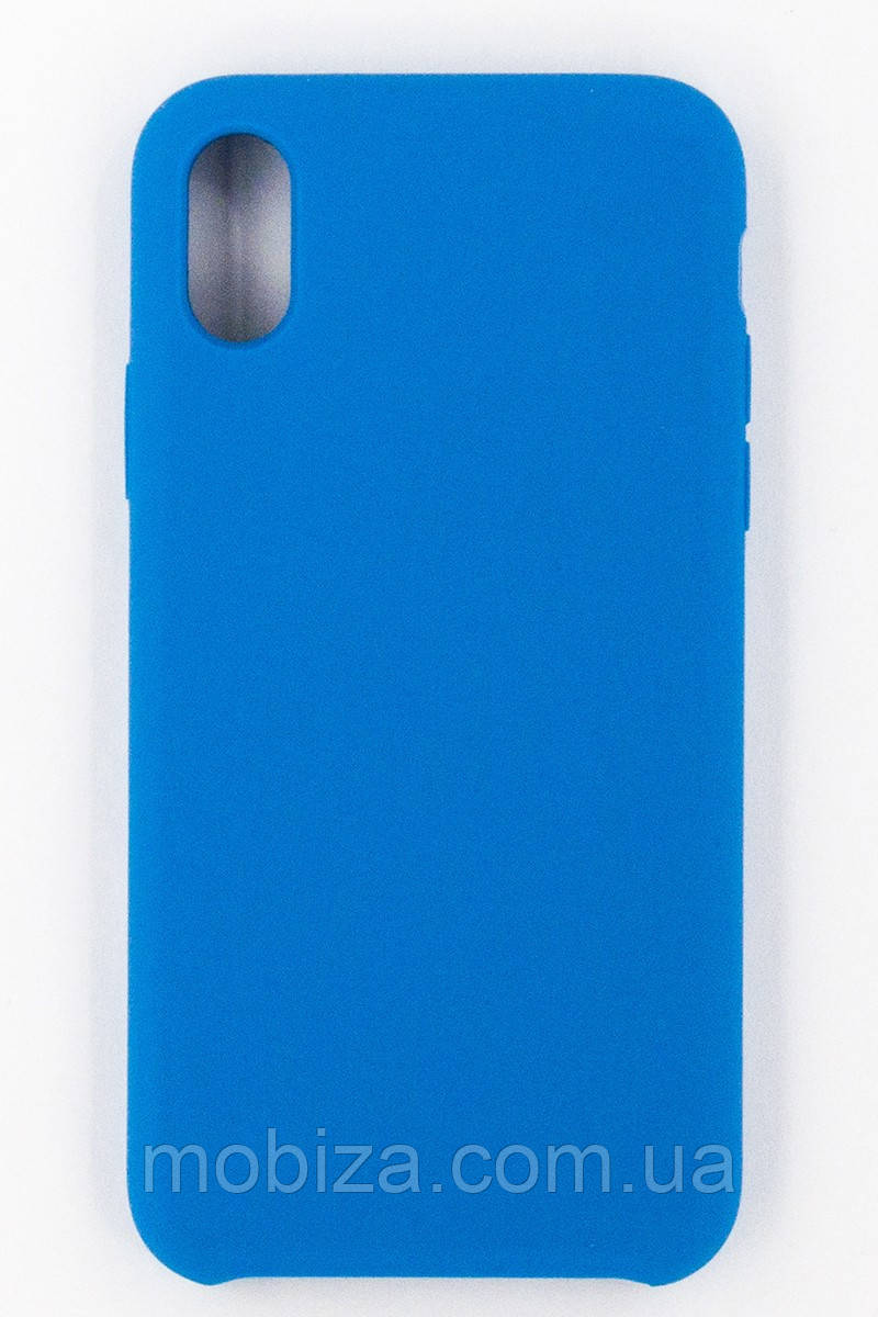 "Чохол-панель FINE LINE (Back Cover) ""Silicon"" для iPhone X (blue)"