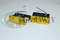 Фара с галогенкой желтая (прямоугольная 008B/W) 110*40 LA HY-008B/Y Lavita, фото 1