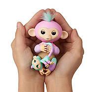 Оригинал Интерактивная обезьянка Fingerlings Baby Monkey Ashley & Chance, фото 4