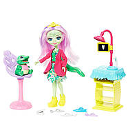Enchantimals Игровой набор Энчантималс Стоматология Энди Крокодилли и Марши  Dentist & Andie Alligator Doll, фото 2