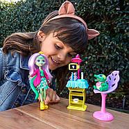 Enchantimals Игровой набор Энчантималс Стоматология Энди Крокодилли и Марши  Dentist & Andie Alligator Doll, фото 4