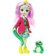 Enchantimals Игровой набор Энчантималс Стоматология Энди Крокодилли и Марши  Dentist & Andie Alligator Doll, фото 5