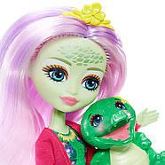 Enchantimals Игровой набор Энчантималс Стоматология Энди Крокодилли и Марши  Dentist & Andie Alligator Doll, фото 8
