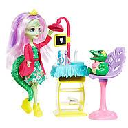 Enchantimals Игровой набор Энчантималс Стоматология Энди Крокодилли и Марши  Dentist & Andie Alligator Doll, фото 9