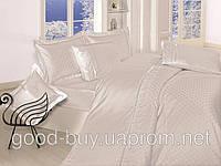 Комплект постельного белья First choice  Vip Сатин Жаккард SVip 35 Krem