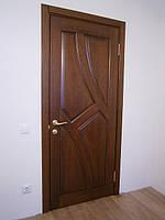 Двери межкомнатные из натурального дерева (ясень)