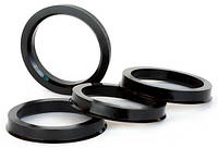 Центровочные кольца 65,1 x 58,6 (Vector HCR651-586) - Термостойкий поликарбонат 280°C, комплект (4 шт.)