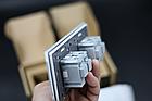 Розетка двойная с заземлением Livolo розовая защитные шторки рамка стекло 16А (VL-C7C2EU-17), фото 4