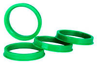 Центровочные кольца 69,1 x 56,1 (Starleks ) - Термостойкий поликарбонат 280°C, комплект (4 шт.)