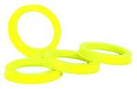 Центровочные кольца 71,6 x 58,1 (Vector HCR716-581) - Термостойкий поликарбонат 280°C, комплект (4 шт.)