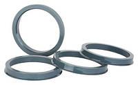 Центровочные кольца 72,1 x 66,6 (Starleks ) - термостойкий поликарбонат 280°C, комплект (4 шт.)