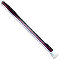 Кабель-коннектор RGBW SMD гнездо-провод (21087)