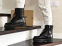 Женские ботинки зимние Jadon черные 8777