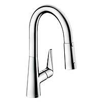 Talis S Смеситель для кухни 160, однорычажный, с выдвижным душем, хром