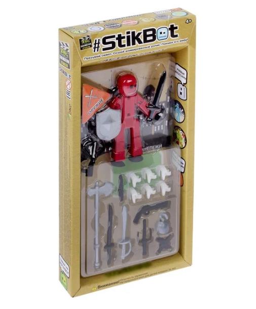Набор для анимации STIKBOT стикбот человечек с аксессуарами