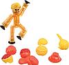 Набор для анимации STIKBOT стикбот человечек с аксессуарами, фото 5